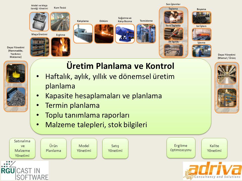 Üretim Planlama ve Kontrol