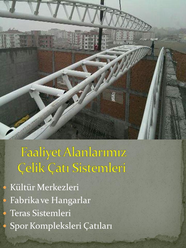 Faaliyet Alanlarımız Çelik Çatı Sistemleri