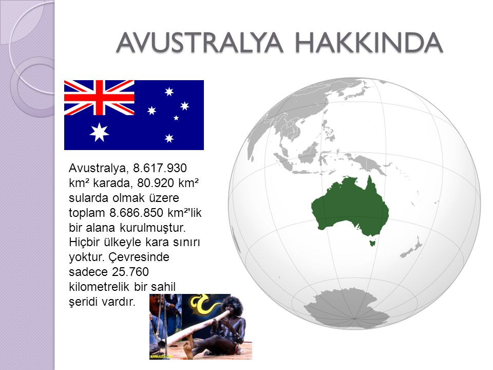 AVUSTRALYA HAKKINDA