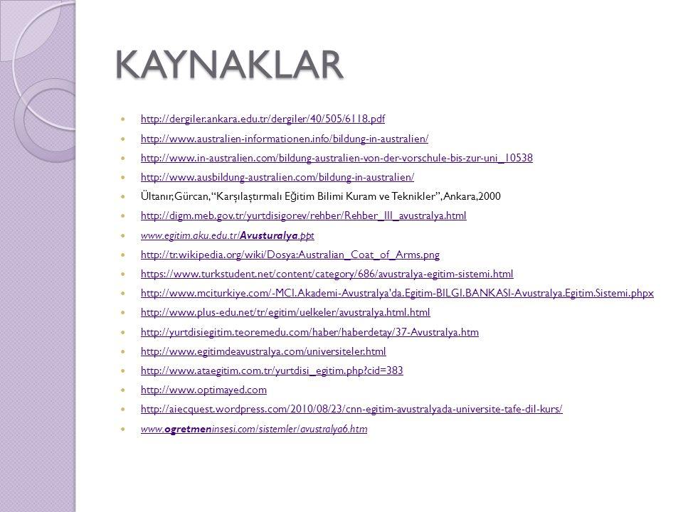 KAYNAKLAR http://dergiler.ankara.edu.tr/dergiler/40/505/6118.pdf