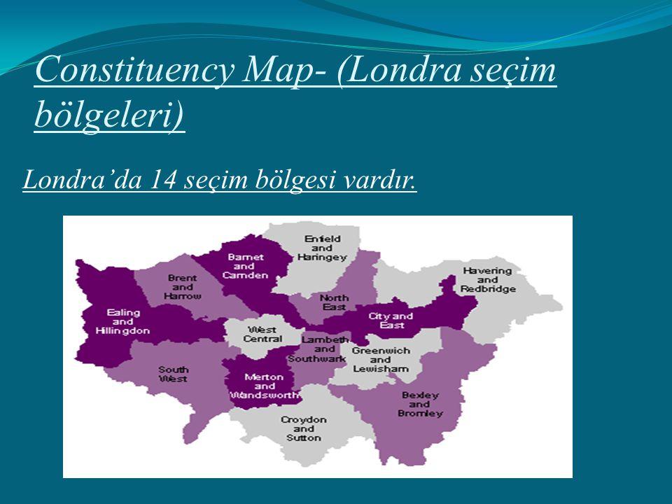 Constituency Map- (Londra seçim bölgeleri)