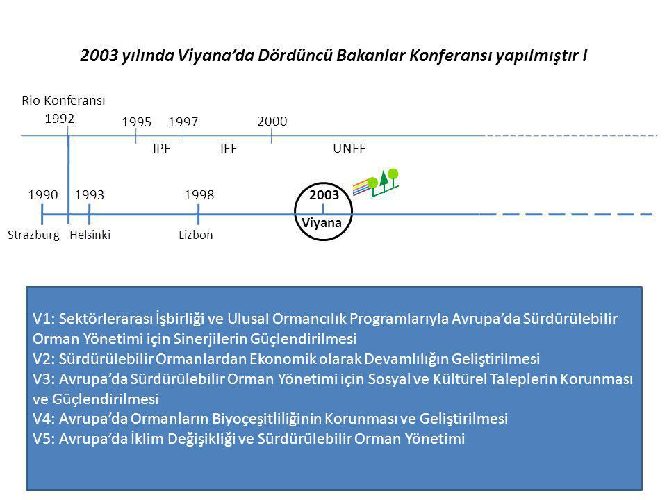2003 yılında Viyana'da Dördüncü Bakanlar Konferansı yapılmıştır !