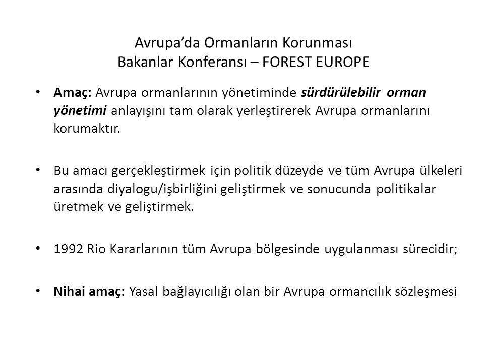Avrupa'da Ormanların Korunması Bakanlar Konferansı – FOREST EUROPE