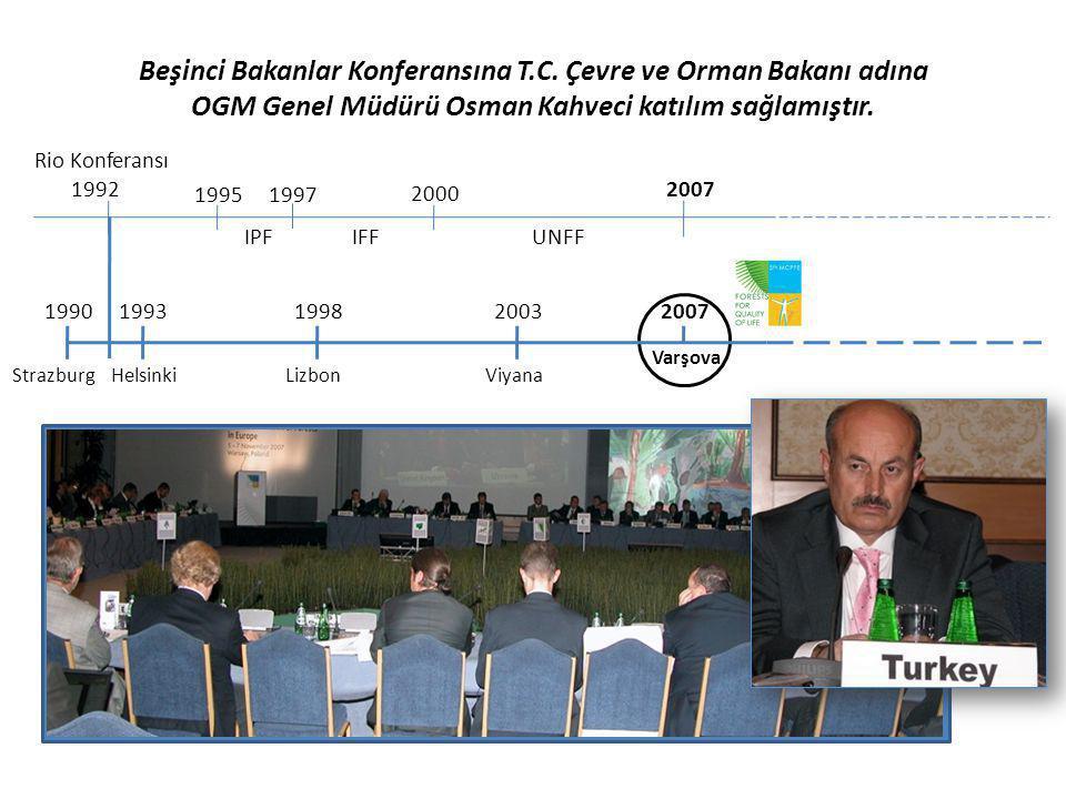 Beşinci Bakanlar Konferansına T. C
