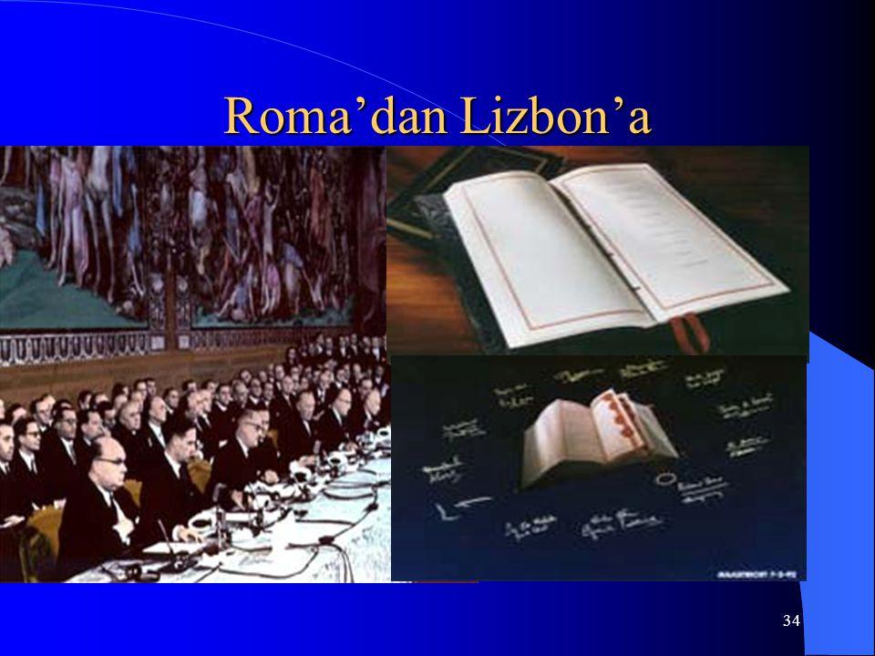 Roma'dan Lizbon'a