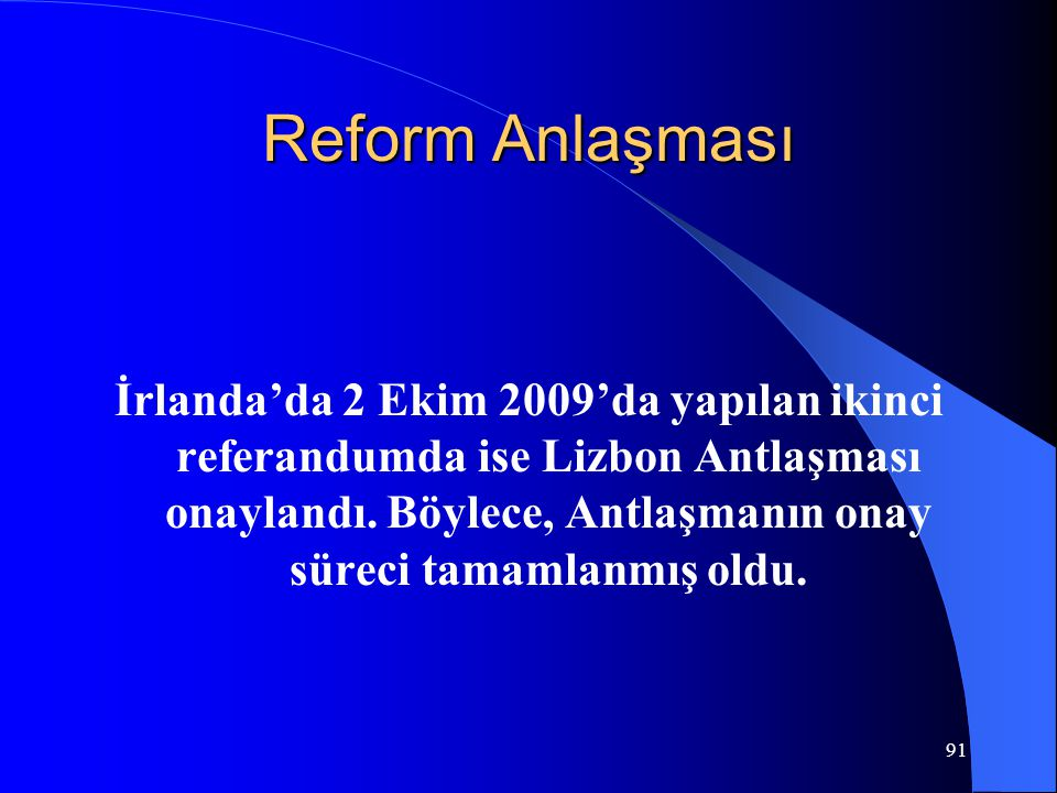 Reform Anlaşması