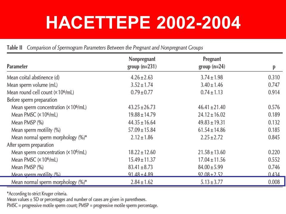 HACETTEPE 2002-2004