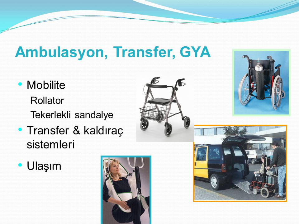 Ambulasyon, Transfer, GYA