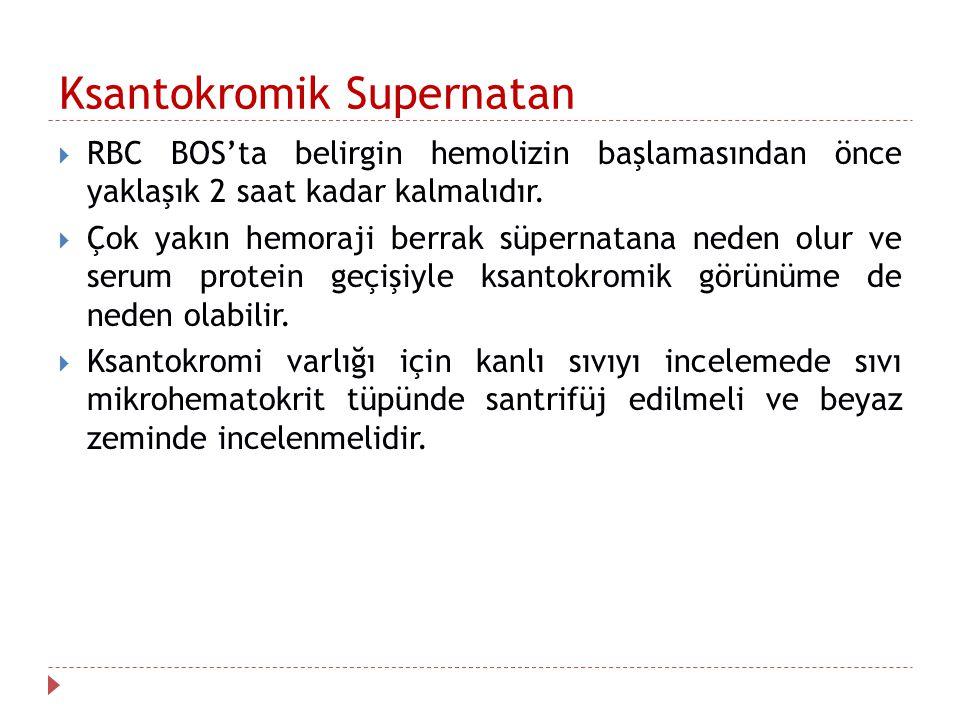 Ksantokromik Supernatan