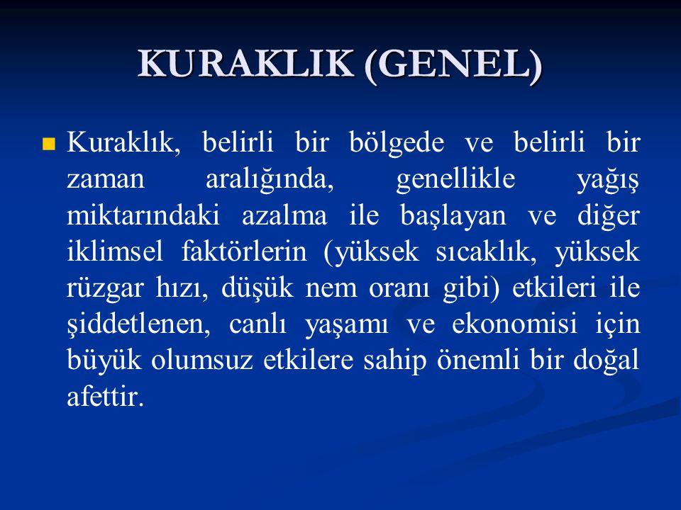KURAKLIK (GENEL)