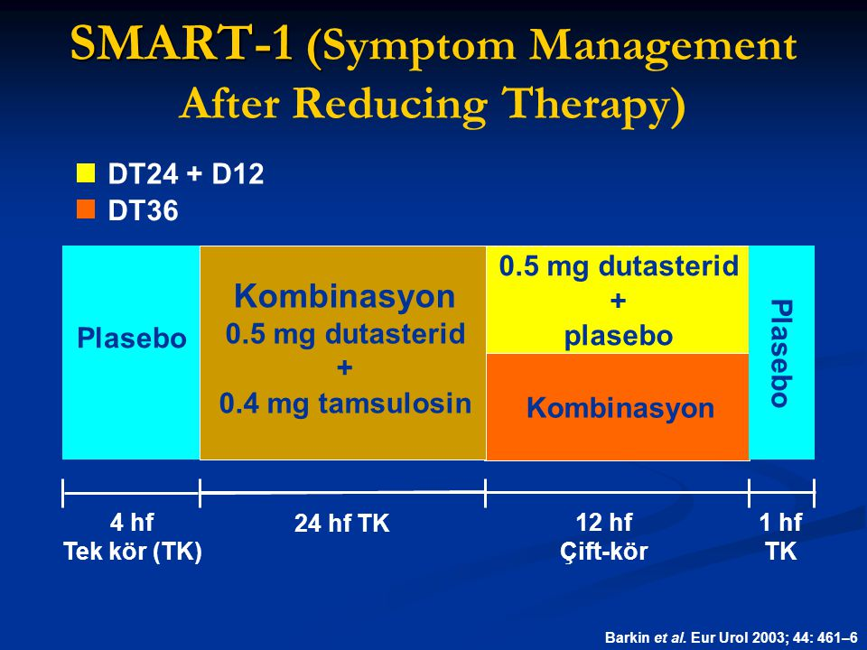 SMART-1 (Symptom Management After Reducing Therapy)
