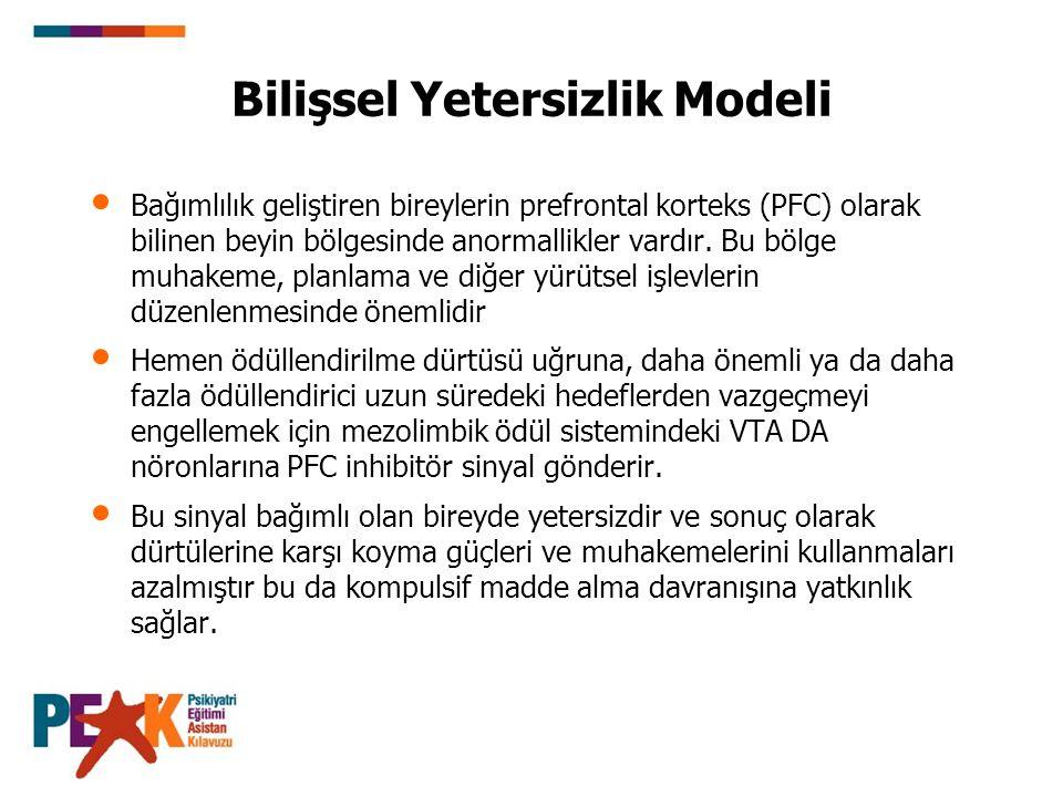 Bilişsel Yetersizlik Modeli