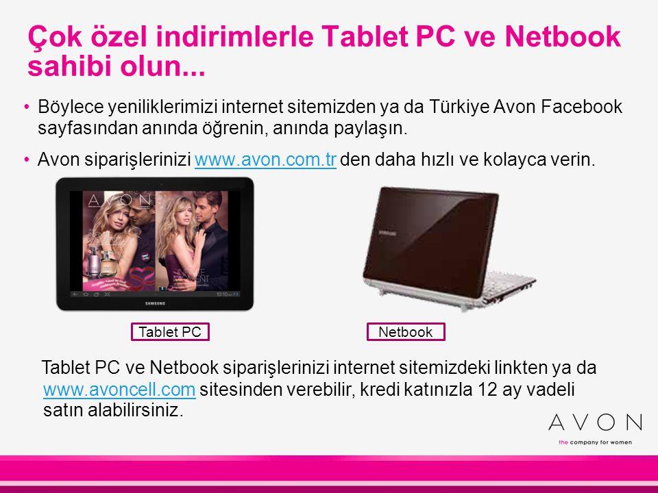 Çok özel indirimlerle Tablet PC ve Netbook sahibi olun...