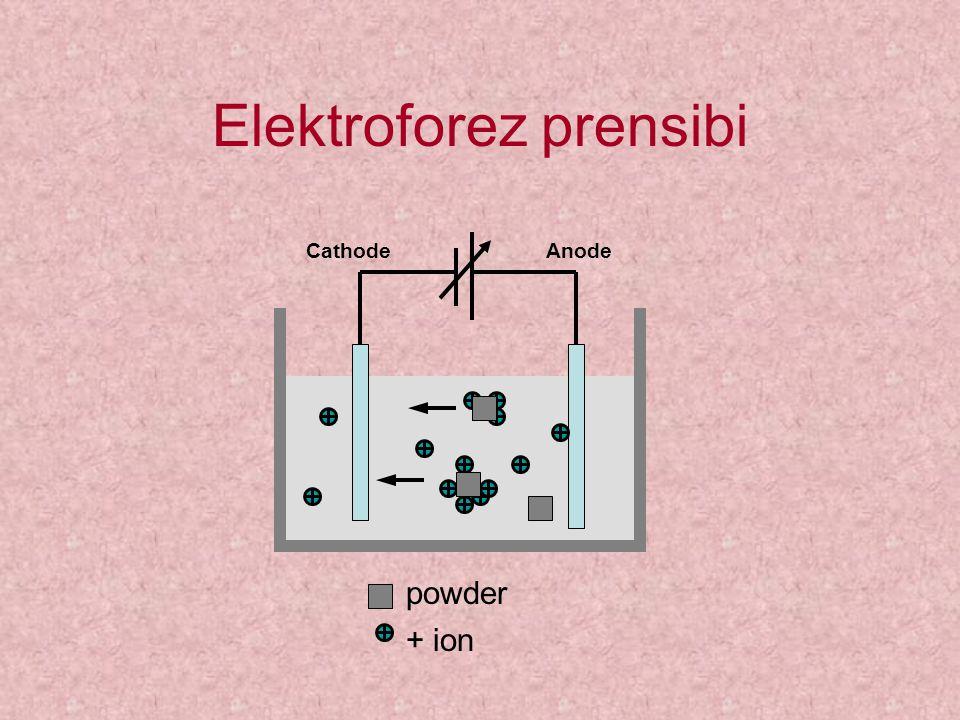 Elektroforez prensibi