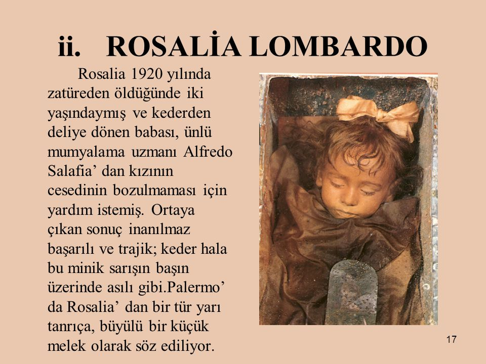 ROSALİA LOMBARDO