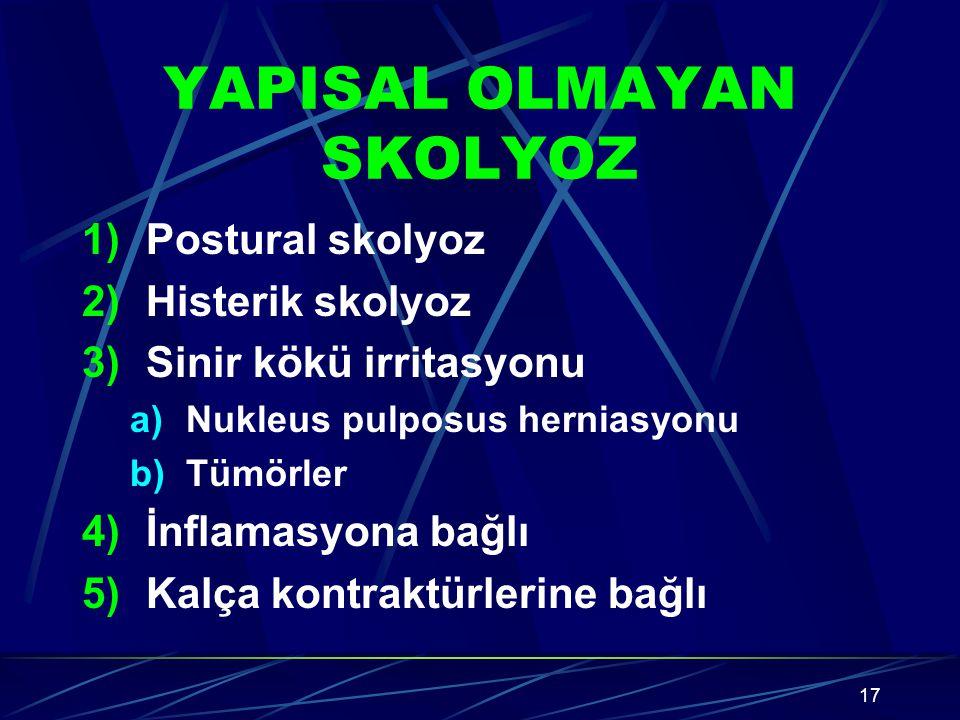 YAPISAL OLMAYAN SKOLYOZ