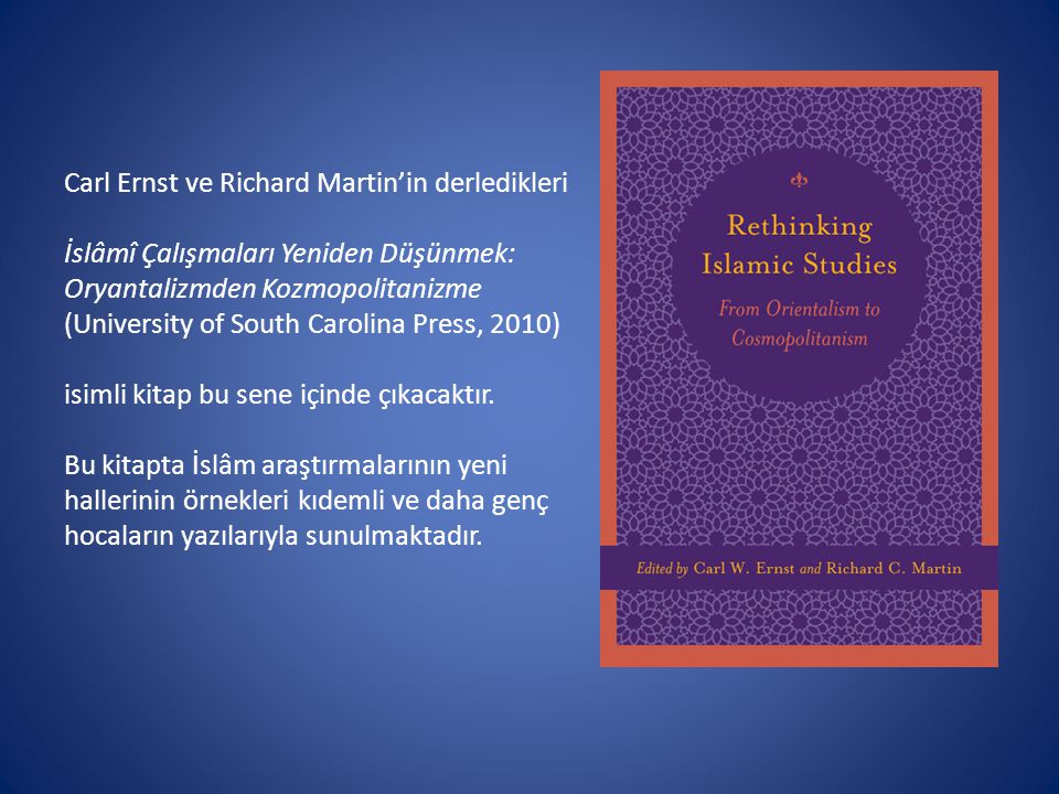 Carl Ernst ve Richard Martin'in derledikleri