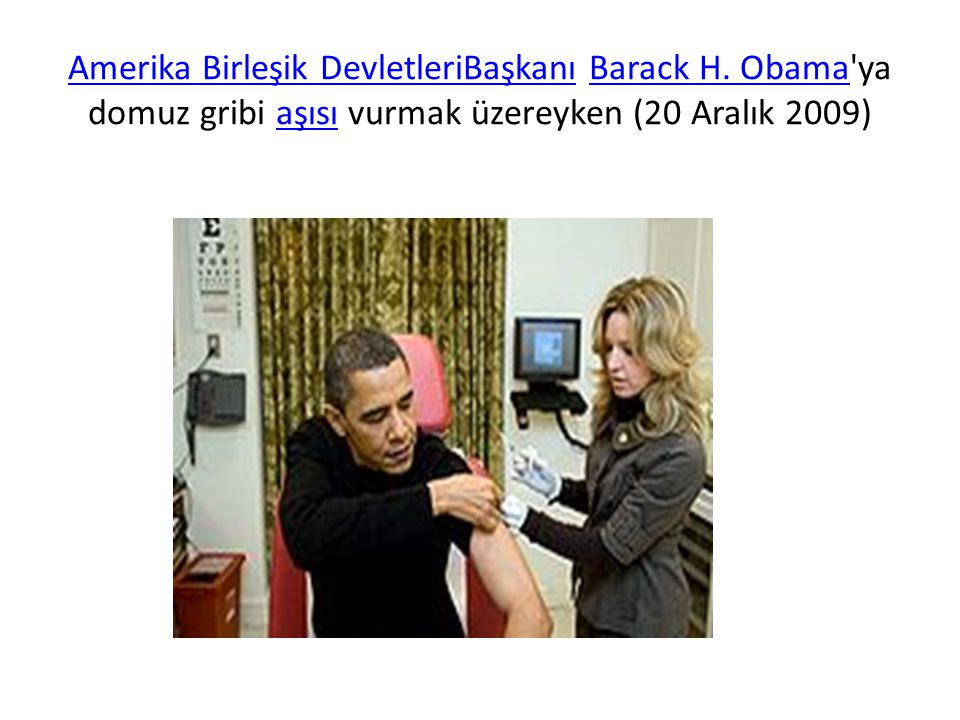 Amerika Birleşik DevletleriBaşkanı Barack H