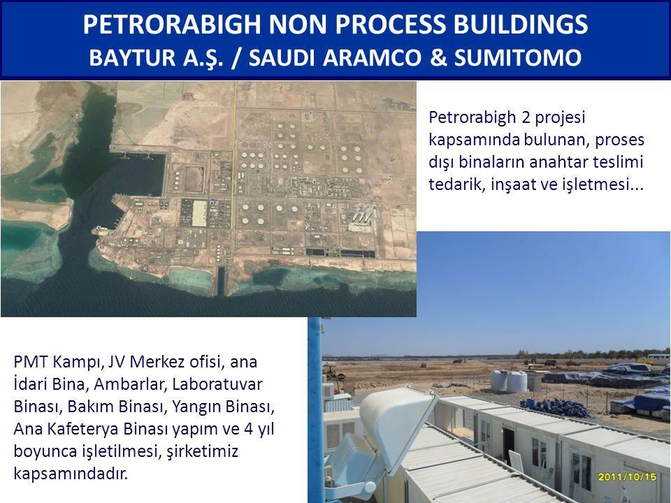 PETRORABIGH NON PROCESS BUILDINGS BAYTUR A. Ş