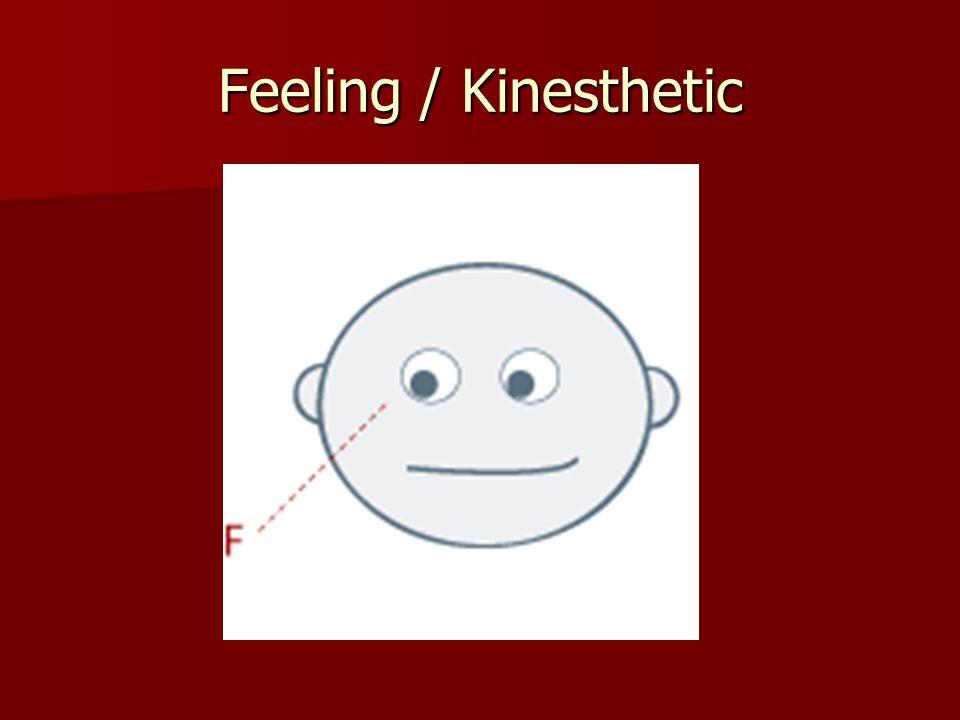 Feeling / Kinesthetic