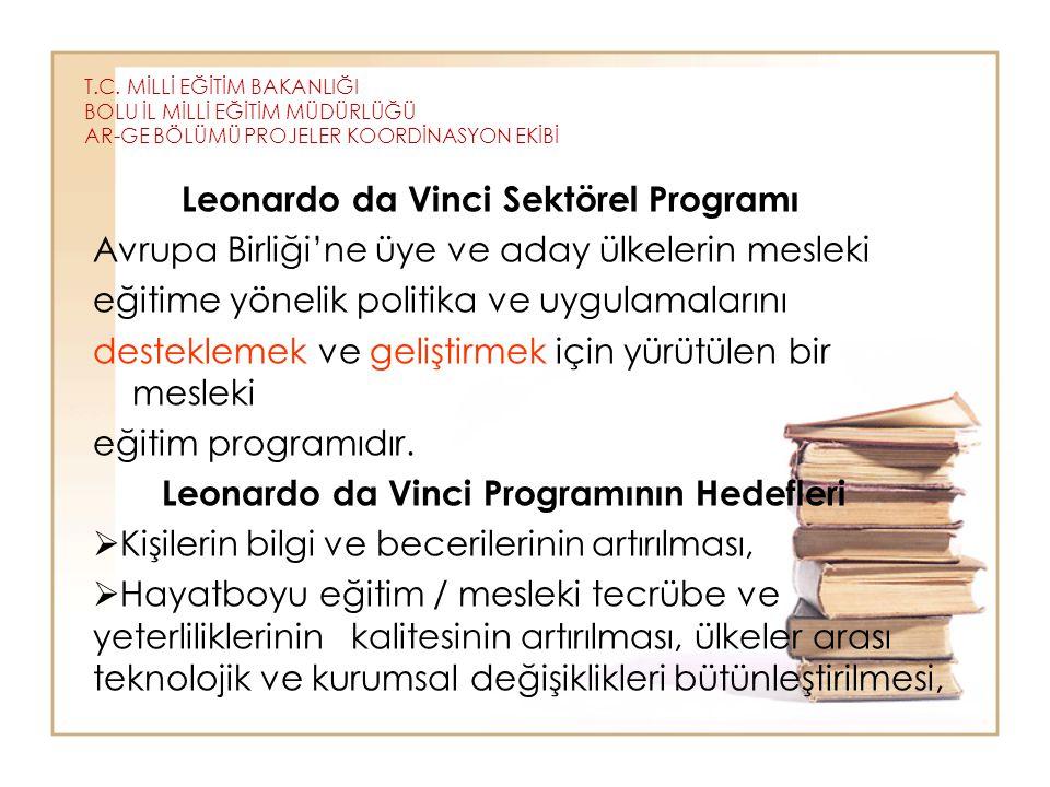 Leonardo da Vinci Sektörel Programı