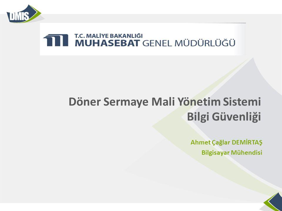 Döner Sermaye Mali Yönetim Sistemi Bilgi Güvenliği