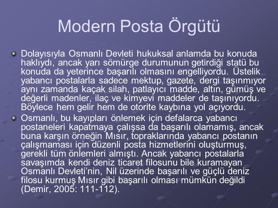 Modern Posta Örgütü