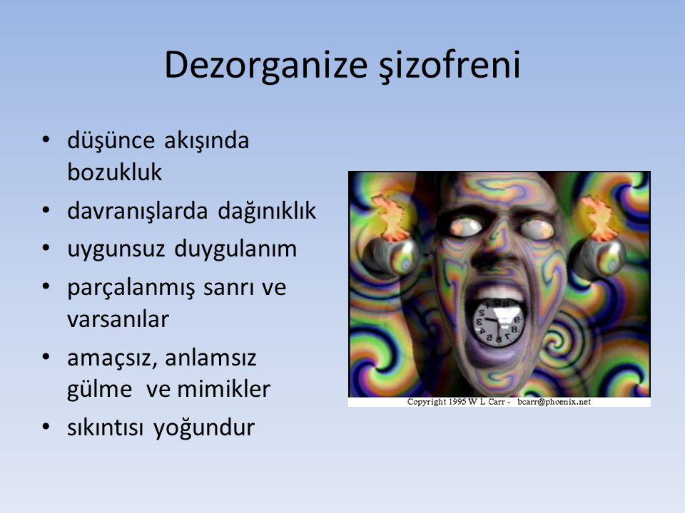 Dezorganize şizofreni