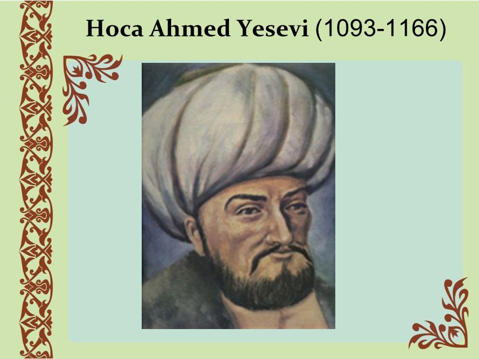 Hoca Ahmed Yesevi (1093-1166)