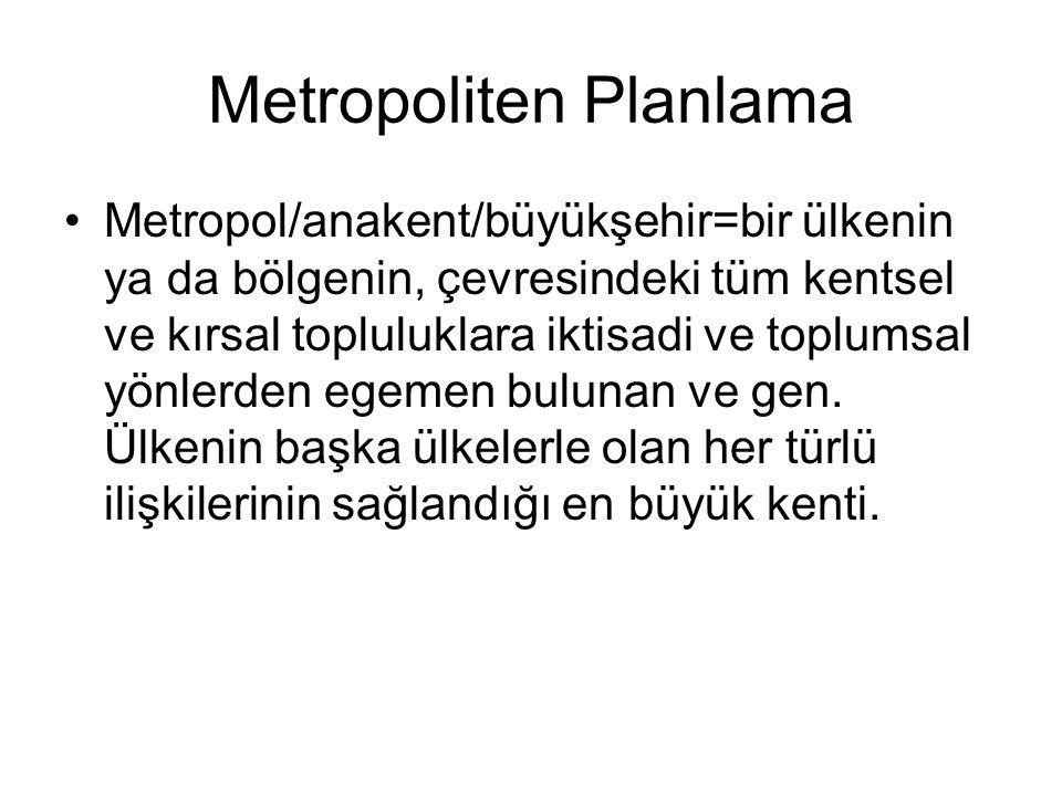 Metropoliten Planlama