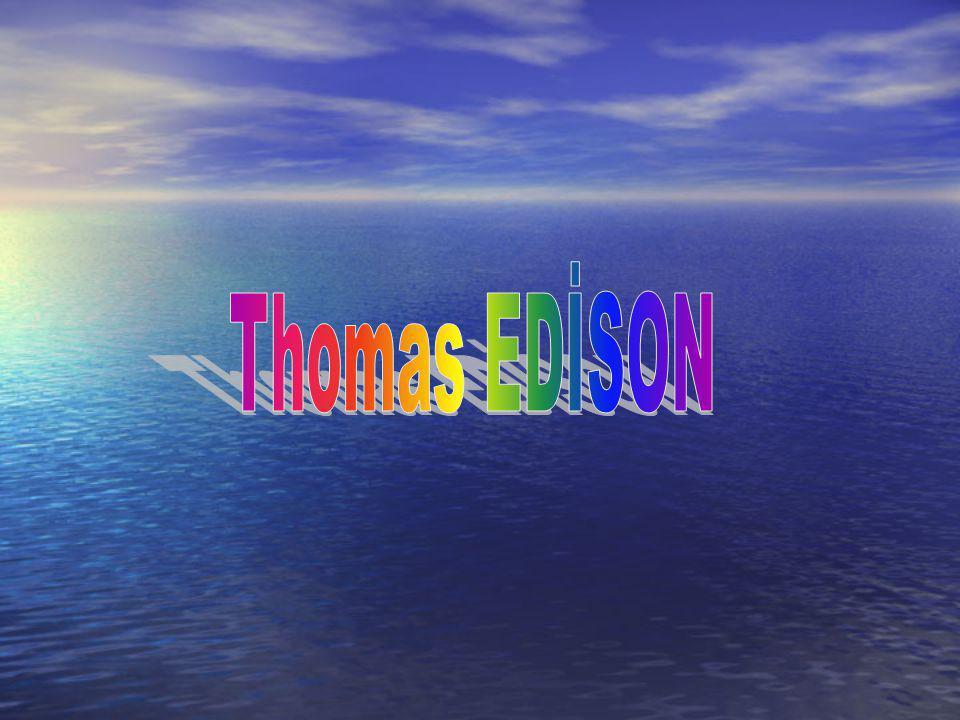 Thomas EDİSON