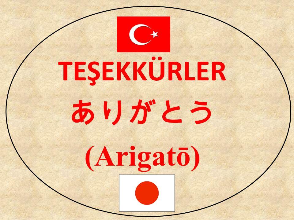 TEŞEKKÜRLER ありがとう (Arigatō)