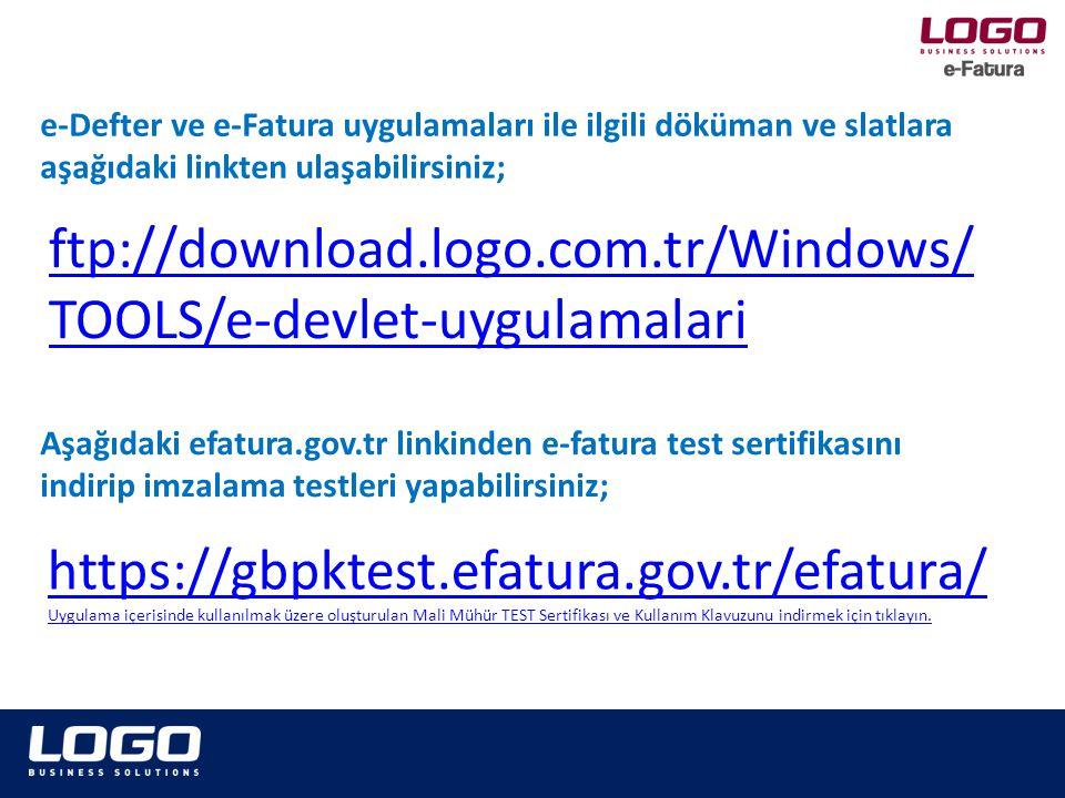 ftp://download.logo.com.tr/Windows/TOOLS/e-devlet-uygulamalari