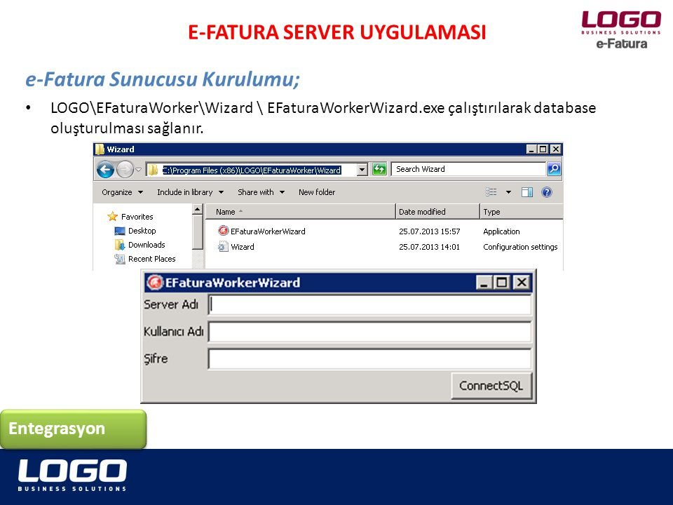 E-FATURA SERVER UYGULAMASI