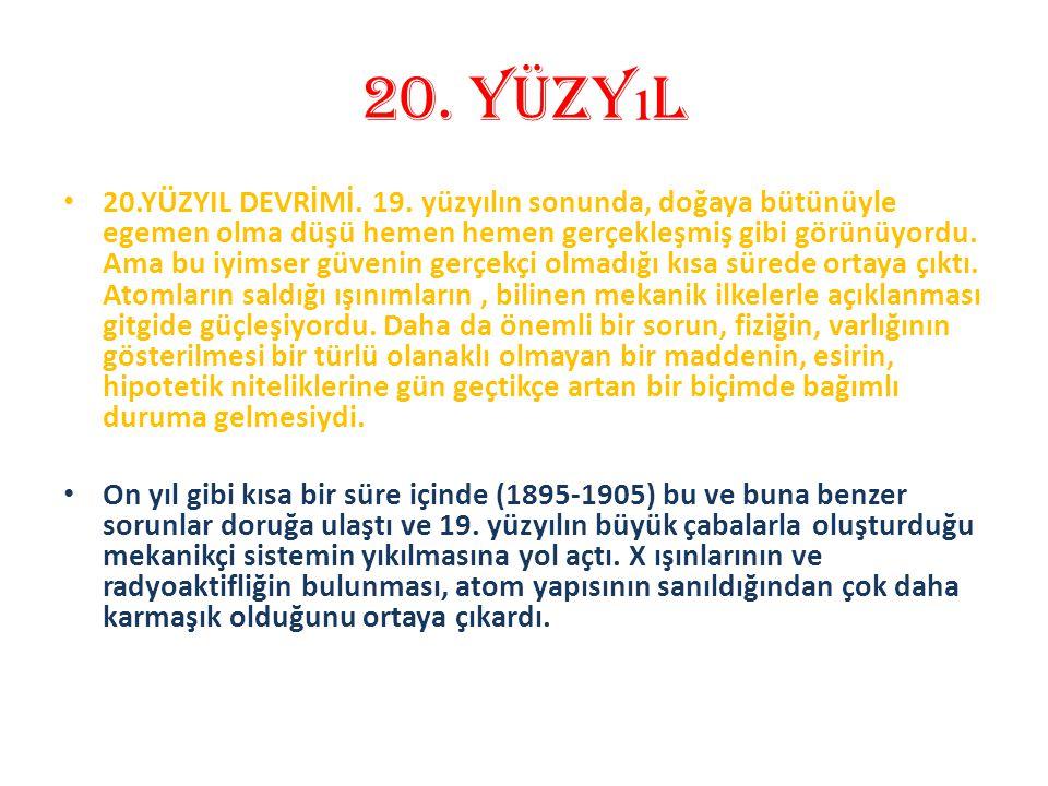 20. yüzyıl