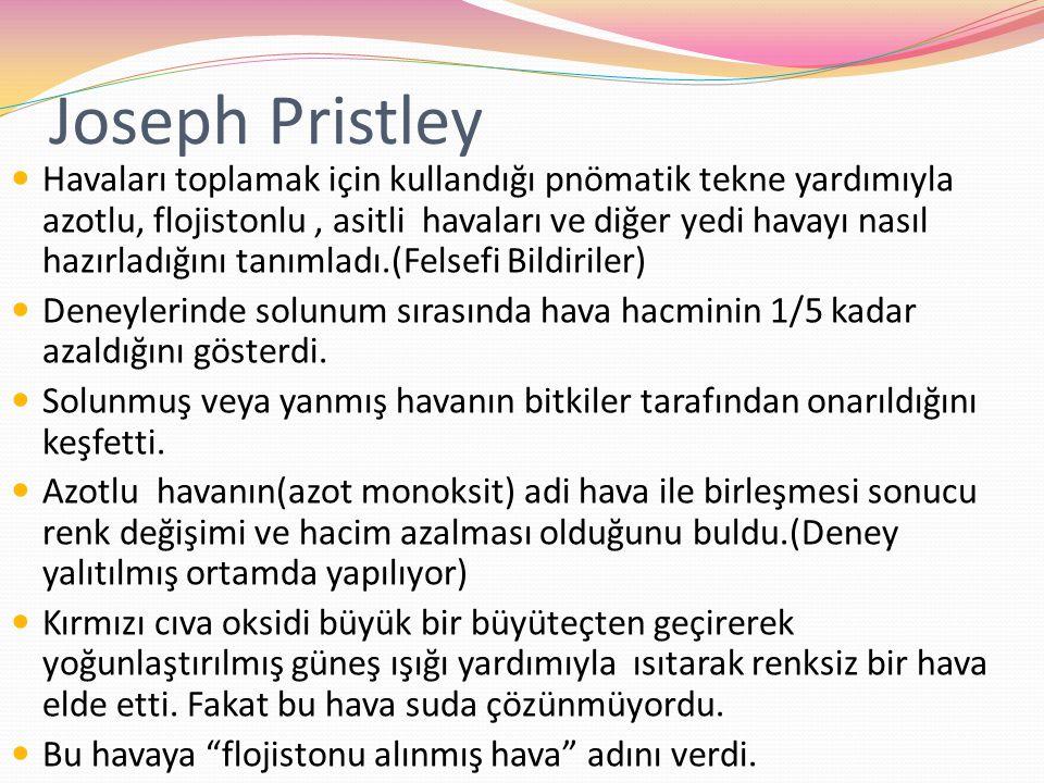 Joseph Pristley