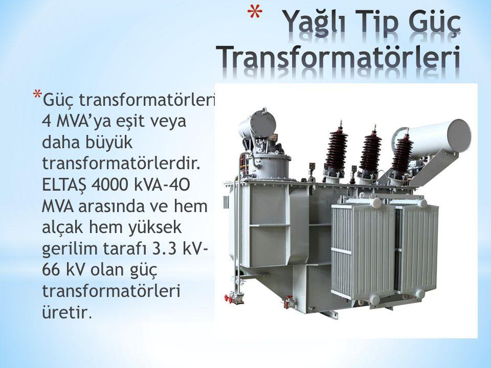 Yağlı Tip Güç Transformatörleri