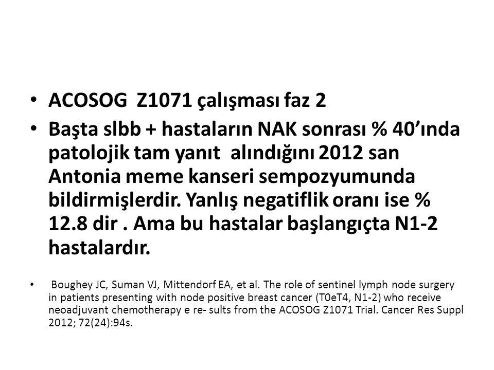 ACOSOG Z1071 çalışması faz 2