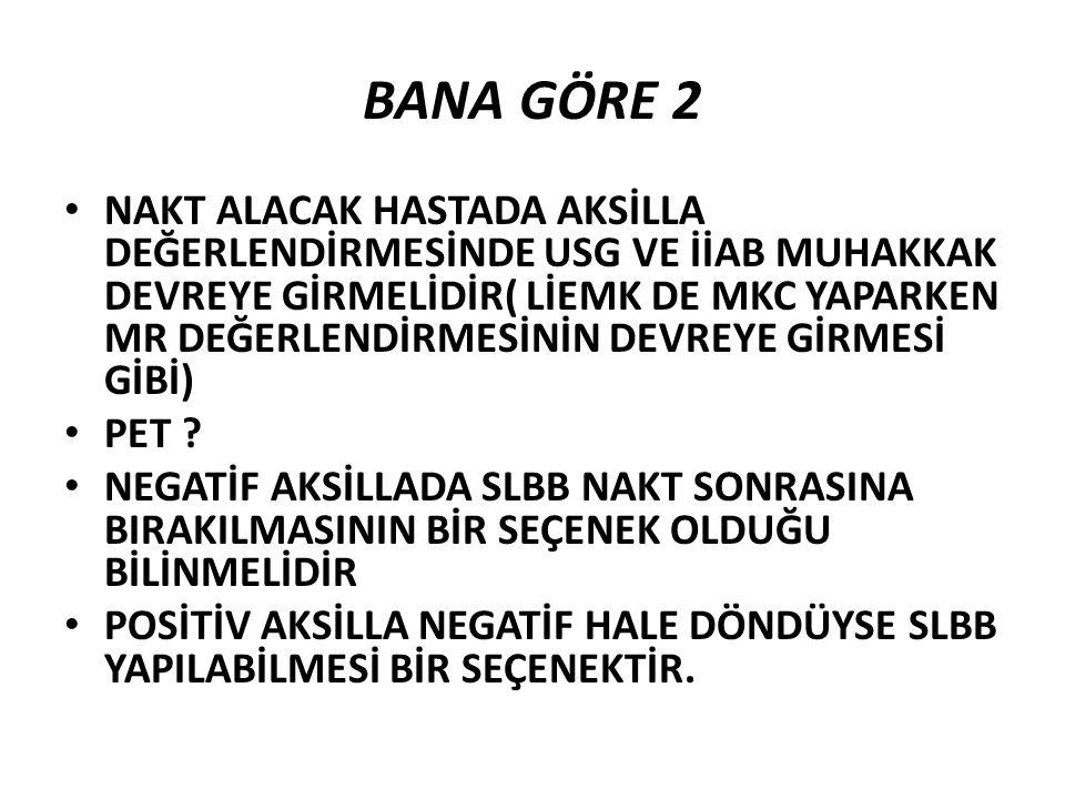BANA GÖRE 2