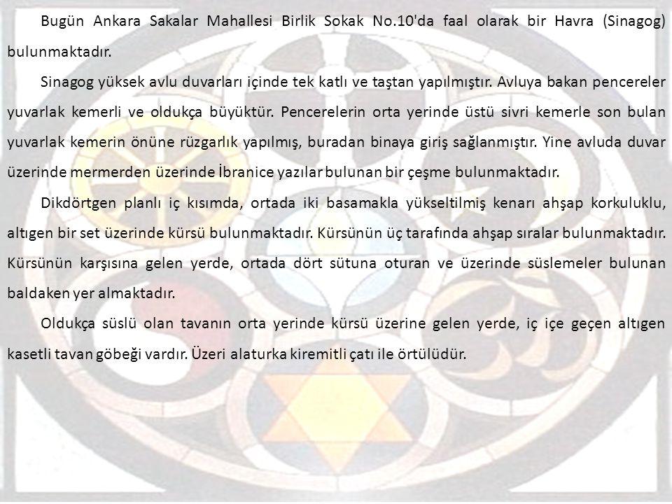 Bugün Ankara Sakalar Mahallesi Birlik Sokak No