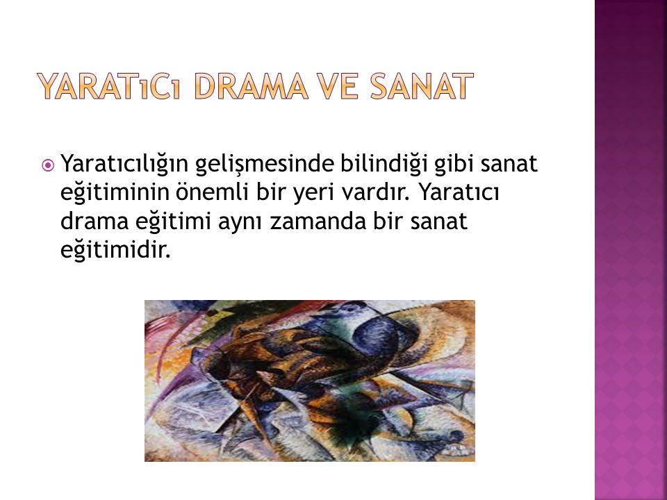 Yaratıcı drama ve sanat