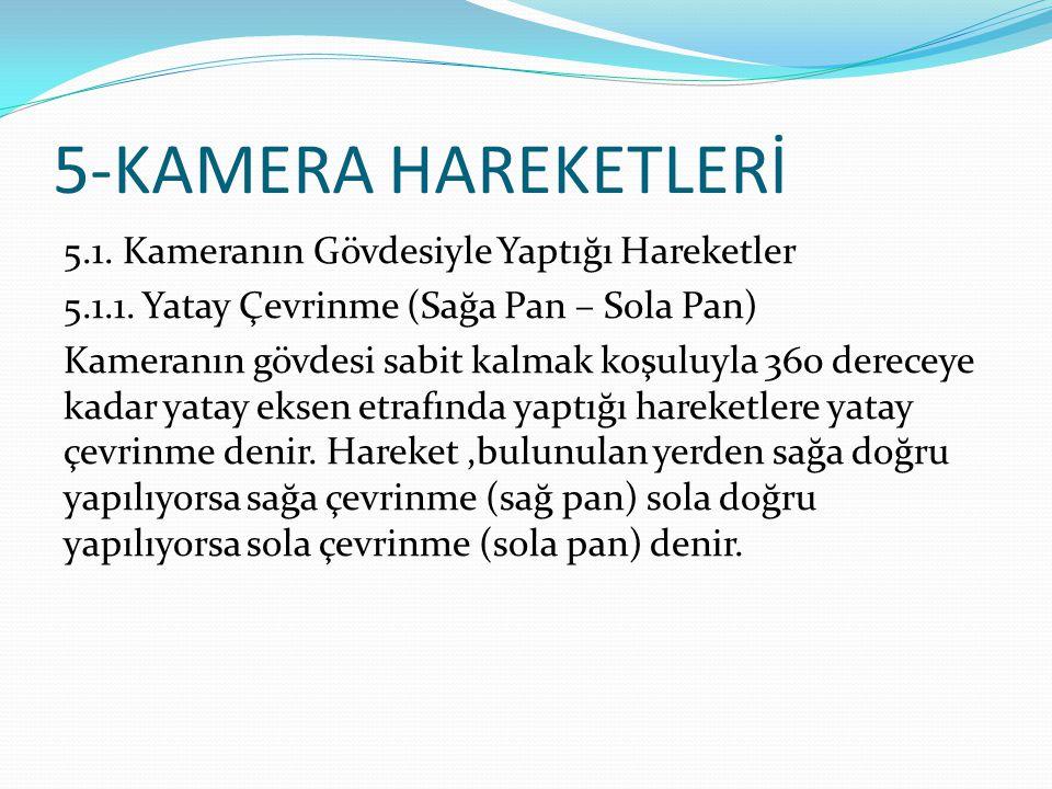 5-KAMERA HAREKETLERİ