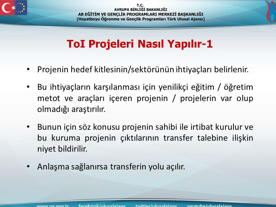 ToI Projeleri Nasıl Yapılır-1