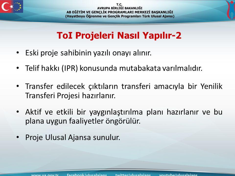 ToI Projeleri Nasıl Yapılır-2