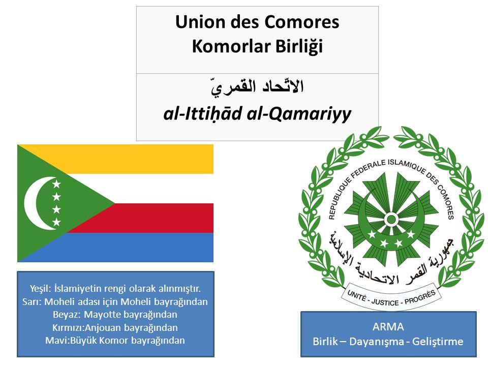 Union des Comores Komorlar Birliği