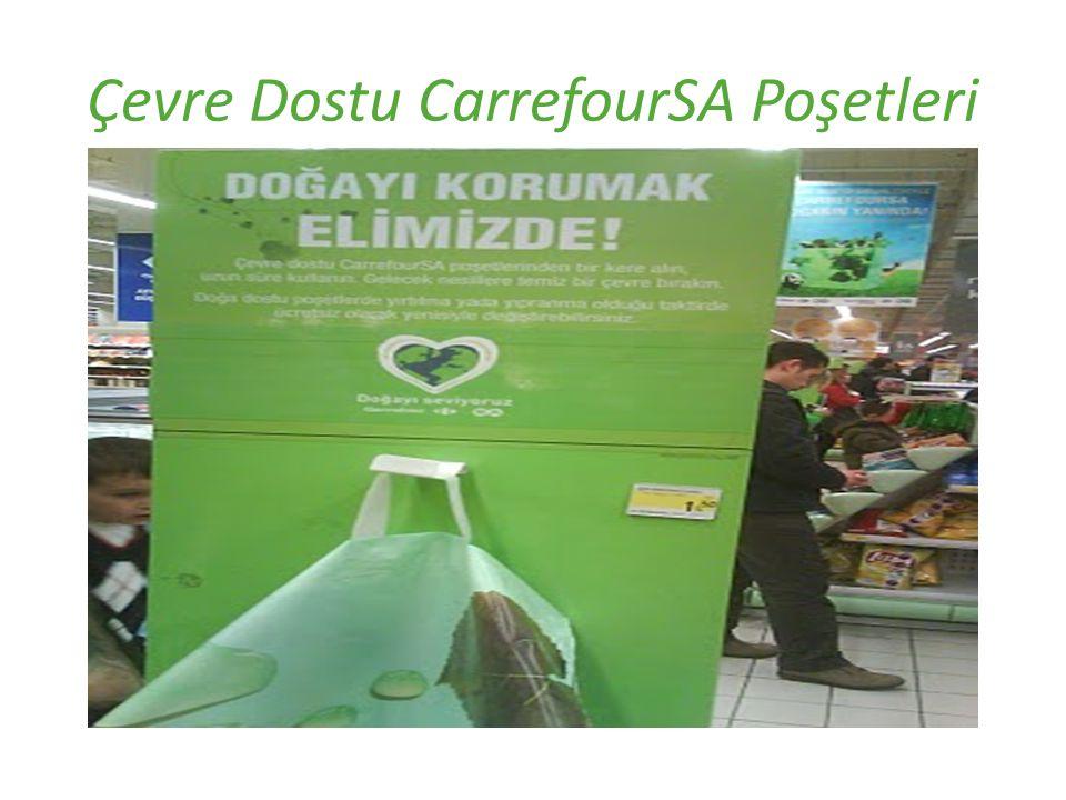 Çevre Dostu CarrefourSA Poşetleri