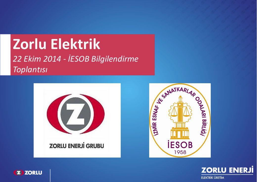 Zorlu Elektrik 22 Ekim 2014 - İESOB Bilgilendirme Toplantısı FF