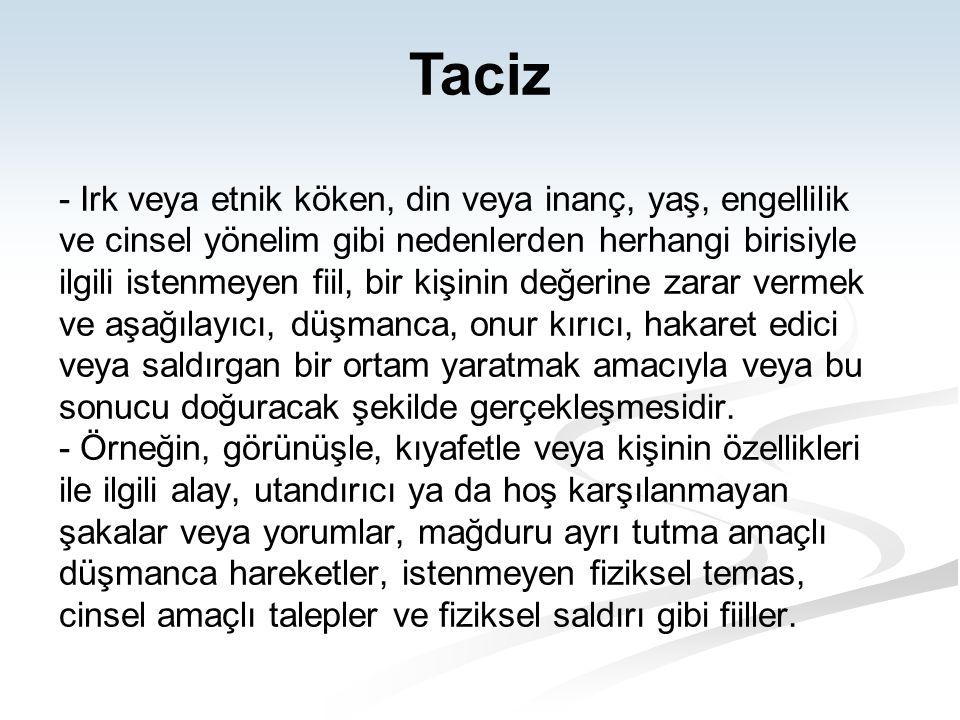 Taciz