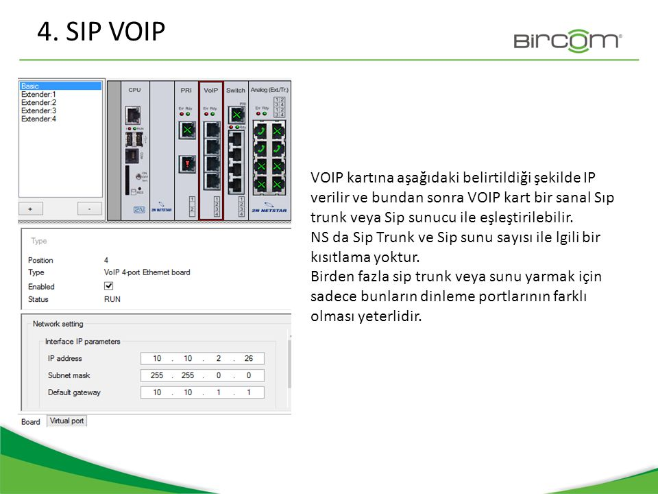 4. SIP VOIP