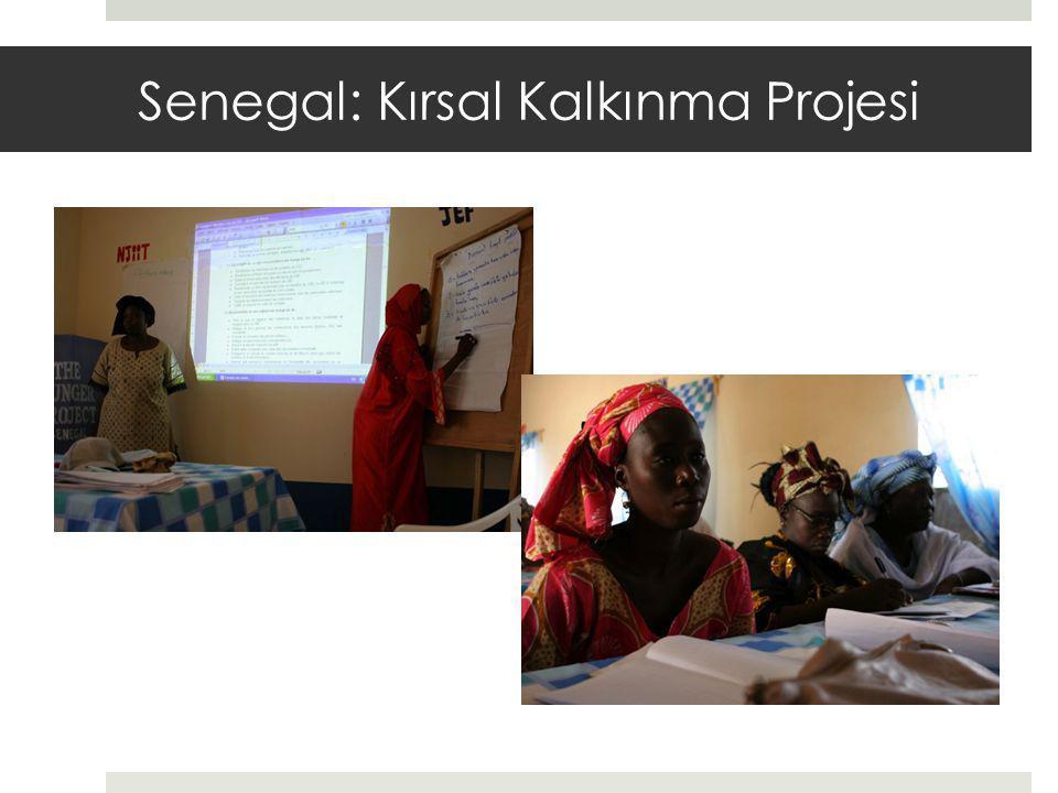 Senegal: Kırsal Kalkınma Projesi